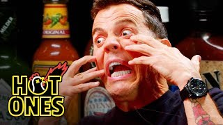 Download Steve-O Tells Insane Stories While Eating Spicy Wings | Hot Ones Video