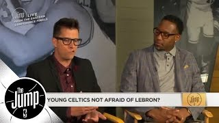 Download Young Celtics not afraid of LeBron James? | The Jump | ESPN Video