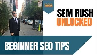 Download SEM RUSH Tutorial: SEO Keyword Research, Link Opportunities for Beginner SEOS Video