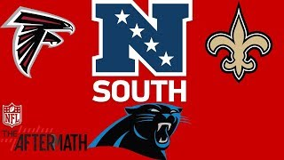 Download Panthers, Saints, or Falcons: Who has the Edge to Win the NFC South? | The Aftermath | NFL Network Video