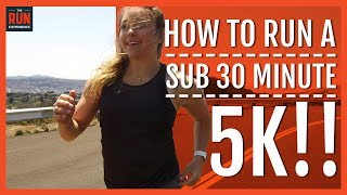 Download How To Run A Sub 30 Minute 5k Video