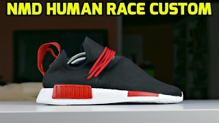 Download CUSTOM NMD HUMAN RACE TRANSFORMATION!!! Video