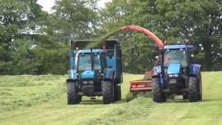 Download 9 Ford NH Blue Power Heathfield 1st Cut 15 gtritchie5 Video