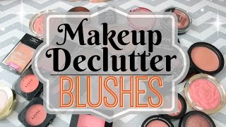 Download Makeup Declutter 2017 | Blushes! Video