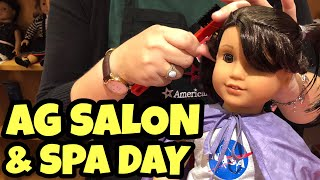 Download American Girl Hairstyles & Spa Treatment at American Girl Salon Video