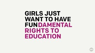 Download Girls just want to have FUN-damental rights to education // The ONE Campaign Video