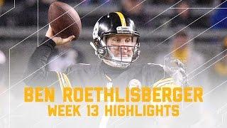 Download Big Ben Leads Steelers with 289 Yards & 2 TDs (Week 13 Highlights) | Giants vs. Steelers | NFL Video