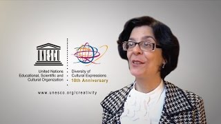 Download Gisèle Dupin speaks about the 2005 UNESCO Convention Video