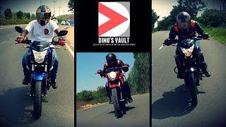 Download Pulsar 160 NS vs Gixxer, Hornet, FZ V2.0, RTR 160 Shootout #Bikes@Dinos Video