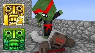 Download Monster School : GRANNY VS BABY MONSTER TEMPLE RUN CHALLENGE - Minecraft Animation Video