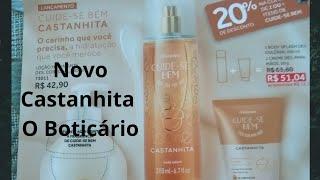 Download Novo Body Splash Castanhita, O Boticário Video