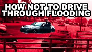 Download 370Z Fails To Drive Through Miami Flooding Video