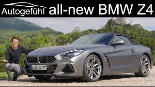 Download All-new BMW Z4 FULL REVIEW M40i G29 2019 - sibling of Toyota Supra Video