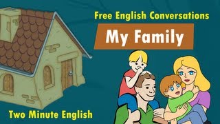 Download My Family - Family Vocabulary - English Words for Family Members Video