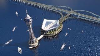 Download Самый длинный подвесной мост в мире, Акаси-Кайкё(Akashi Bridge-Keike) Video
