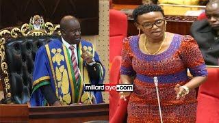 Download 'Halima Mdee akamatwe na Polisi akiwa na pingu na aletwe Bungeni' -Spika Ndugai Video