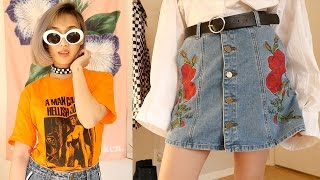 Download MASSIVE Asian 90s Fashion Try-On Haul | PART 1! #KickBackWithKaren Video