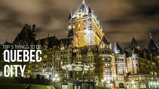 Download QUEBEC Travel Guide, 6 Things To Do in Quebec City Video