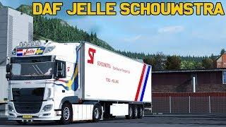 Download ✅ [ETS2 1.32] DAF Jelle Schouwstra + Trailer Video