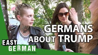 Download What Germans say about Donald Trump | Easy German 143 Video