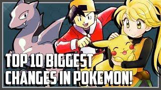 Download Top 10 BIGGEST Changes in Pokemon! Video