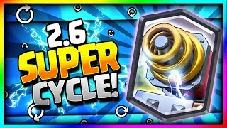 Download INSANE 2.6 SUPER FAST CYCLE SPARKY DECK!! SPARKY SUPER CYCLE!! - Clash Royale Video