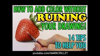 Download How to Add Color Without Ruining Your Drawing: 14 Tips to Help You Video