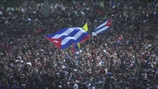 Download Fidel Castro: Cuba holds massive rally to honour revolutionary leader Video