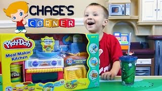 Download Chase's Corner: Playdoh Meal Makin' Kitchen Review & Unboxing Fun w/ Dad Video