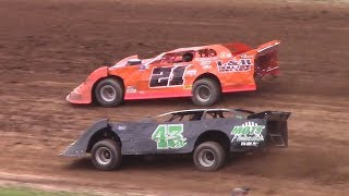 Download RUSH Crate Late Model Heat One | McKean County Raceway | 7-22-17 Video
