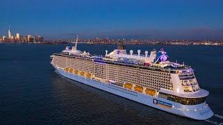 Download عبور اكبر سفينة ركاب سياحية فى العالم لقناة |السويس| Video