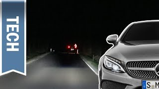 Download Multibeam LED in der Mercedes-Benz C-Klasse im (Härte-)Test: Nachtfahrt mit Fernlichtassistent Plus Video
