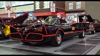 Download 1966 Batmobile with Engine Start Up @ the Klairmont Kollections on My Car Story with Lou Costabile Video