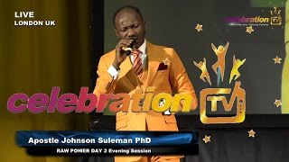 Download RAW POWER LONDON UK - Day 2 Evening Session - Apostle Johnson Suleman Video