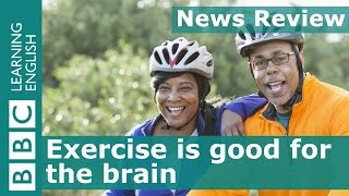 Download BBC News Review: Exercise helps the brain Video