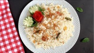Download বাবুর্চি স্টাইলে বিয়ে বাড়ির পোলাউ || Plain Polau Recipe Bangla || Biye Barir Polao || Pulao Video