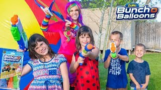 Download Princess Lollipop has a Water Balloon Party with Kate, Lilly, and Friends! | Bunch o' Balloons! Video