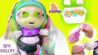 Download НОВАЯ СЮРПРИЗ #ПОНИ ЕДИНОРОГ В СПА САЛОНЕ! Surprise Poopsie Baby Unicorn + Slime! Барби Мультик Video