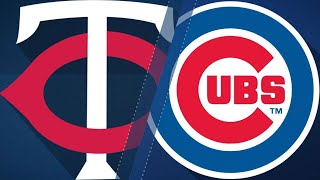 Download Cubs swat 4 HRs in 10-6 win over the Twins: 6/29/18 Video
