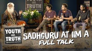 Download Sadhguru at IIM Ahmedabad - Youth and Truth [Full Talk] Video