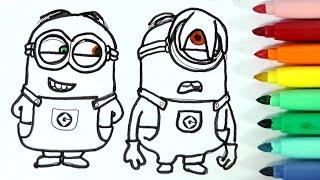 Como Dibujar Al Minion Stuart Emoticonos Whatsapp Kawaii Paso A Paso