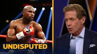Download Shane Mosley predicted Mayweather will be laughing vs McGregor - Skip Bayless reacts | UNDISPUTED Video