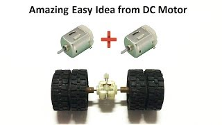 Download RC Homemade How to make RC Heavy Truck Axle from DC motor at home Amazing RC Axle Video