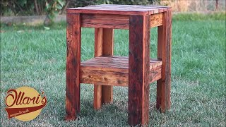 Download Make a Reclaimed Side Table Video
