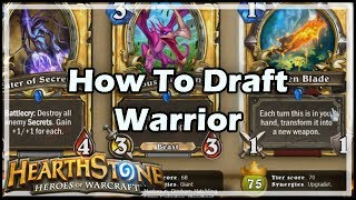 Download [Hearthstone] How To Draft Warrior Video