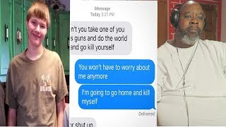 Download Dad Reacts to This boy killed himself because of this text. When I saw what it read... Video