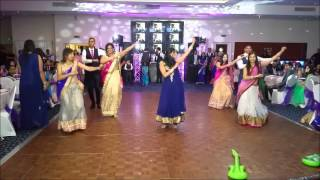 Download Surprise family dance at my sister's Indian wedding reception... Video