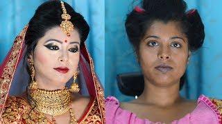 Download सावले स्किन के लिए ब्राइडल मेकअप Bridal Makeup tutorial for Dusky beauty Video
