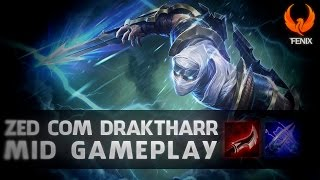 Download League of Legends - ZED MID GAMEPLAY - DRAKTHARR OP [PT-BR] Video