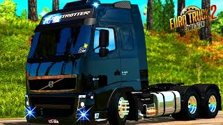 Download EURO TRUCK SIMULATOR 2│MOD│VOLVO FH 540│GLOBETROTTER│PACK DE SOM Video